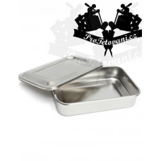Professional container for tattoo tools made of stainless steel