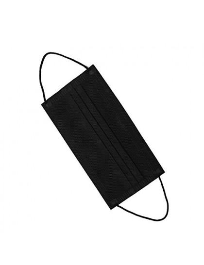 Respirační rouška třívrstvá černá 1 ks