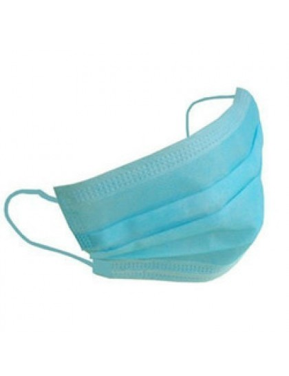 Respirační rouška třívrstvá modrá 1 ks
