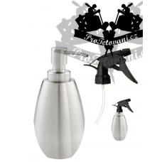 Soap sprayer and dispenser in one stainless steel