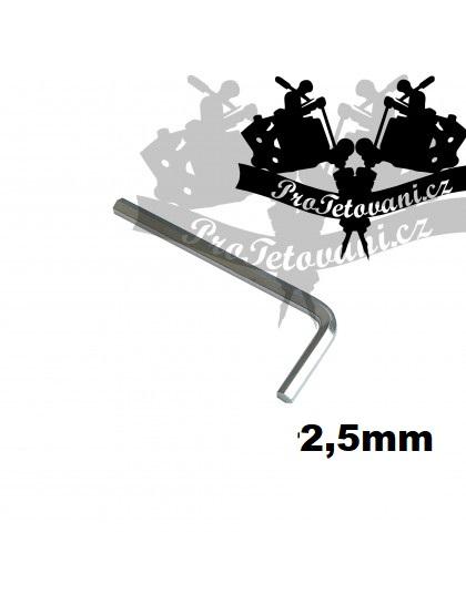 Inbusový klíč s průměrem 2,5 mm