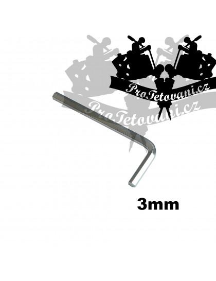 Inbusový klíč s průměrem 3 mm