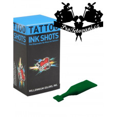 INK SHOTS 2 ML Tattoo ink Moms Millennium Green Hornet