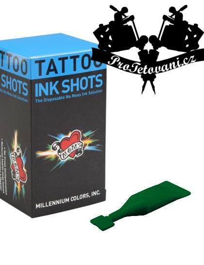 INK SHOTS 2 ML Tetovací barva Moms Millennium Green Hornet