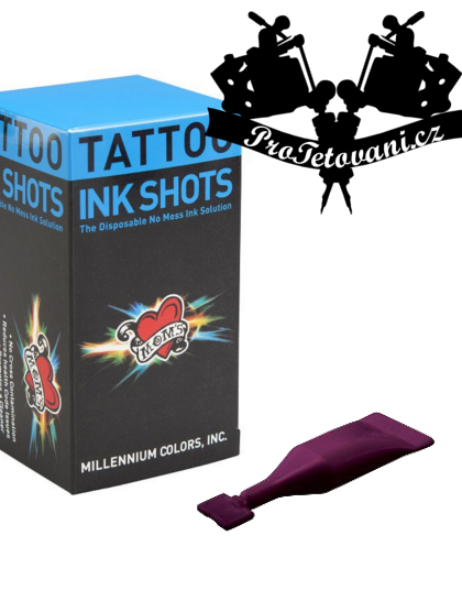 INK SHOTS 2 ML Tetovací barva Moms Millennium Black Cherry