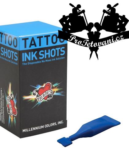 INK SHOTS 2 ML Tetovací barva Moms Millennium Blue Balls