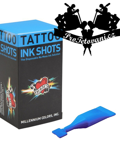 INK SHOTS 2 ML Tetovací barva Moms Millennium Cotton Candy