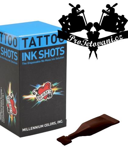 INK SHOTS 2 ML Tetovací barva Moms Millennium Dodo Brown