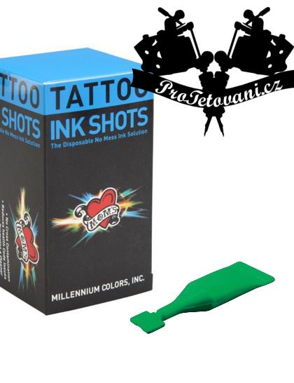 INK SHOTS 2 ML Tetovací barva Moms Millennium Ectoplasmic Green