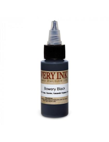 Intenze Bowery Black 30 ml tetovací barva