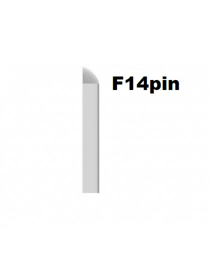 Jehla čepelka pro 3D permanentní make up F14 pin sterilní