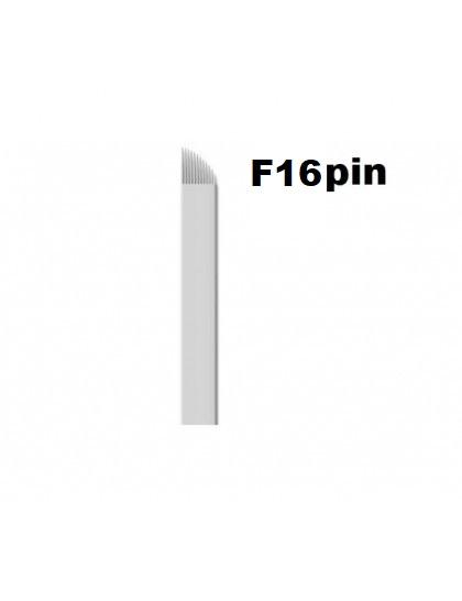 Jehla čepelka pro 3D permanentní make up F16 pin sterilní