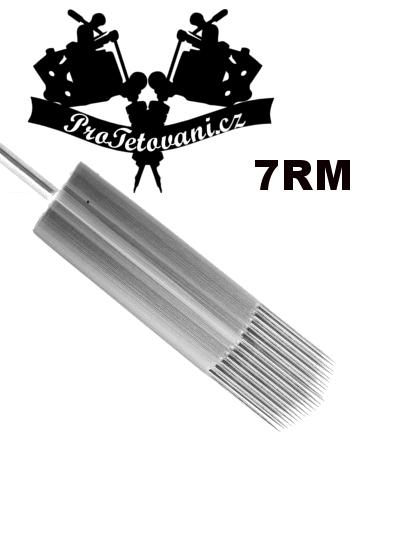 Tetovací jehla 7 Round Magnum 7RM