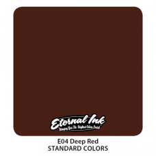 Eternal ink Deep Red tattoo color
