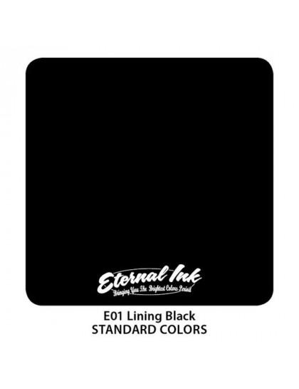 Eternal ink Linning Black tetovací barva
