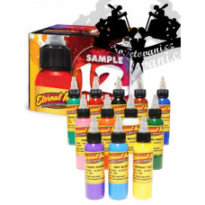 Eternal ink Set of universal shades of tattoo colors 12pcs
