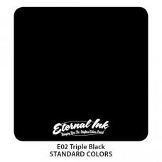 Eternal ink Triple Tribal Black tattoo color