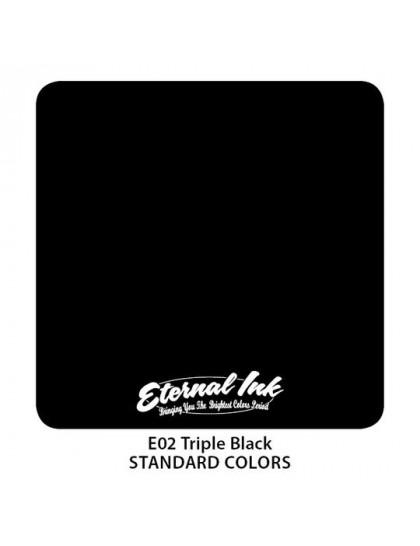 Eternal ink Triple Tribal Black tetovací barva