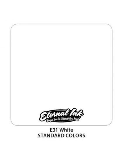 Eternal ink White tetovací barva