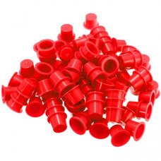 Cups for tattoo colors 12mm 50pcs Red