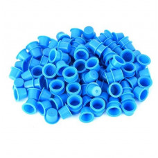 Cups for tattoo colors 12mm 50pcs Blue
