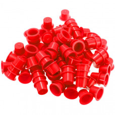 Cups for tattoo colors 15mm red 50pcs