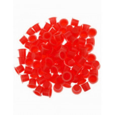 Cups for tattoo colors 8mm 50pcs Red