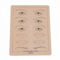 Training tattoo skin for permanent make-up