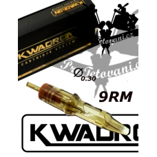 KWADRON 9 Soft Edge Magnum tattoo cartridge