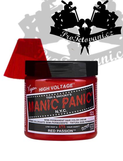 Manic Panic Red Passion barva na vlasy