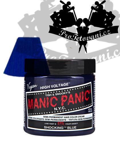 Manic Panic Shocking Blue barva na vlasy