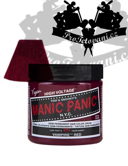 Manic Panic Vampire Red barva na vlasy