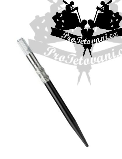 Manuální pero pro 3D permanentní make up Flower Black