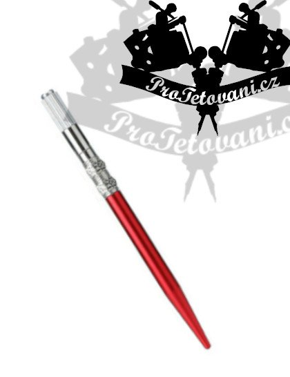 Manuální pero pro 3D permanentní make up Flower Red