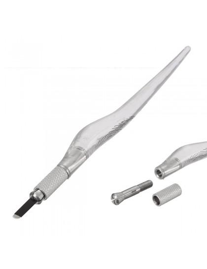 Manuální mikrodermální pero pro 3D permanentní make up Clear