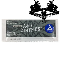 Ointment after tattoo with vitamin A + D 5g Dynarex