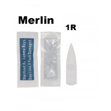Merlin sterile tattoo tip tip for 1R permanent machines