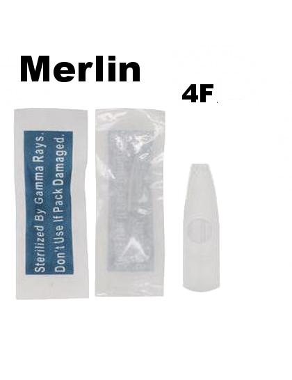 Merlin sterilní tetovací špička tip pro permanentní strojky 4F