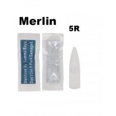 Merlin sterile tattoo tip tip for permanent 5R machines