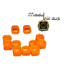 Connecting cups Ink module for tattoo ink 15mm 20pcs Orange