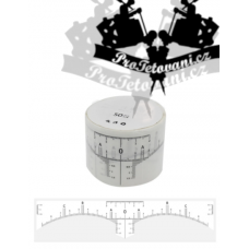 Sticker rulers for PM in rolls of 50 pcs