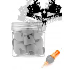 Cartridge covers EZ Tact Memory Foam 30 pcs GREY