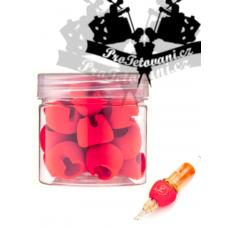 Cartridge covers EZ Tact Memory Foam 30 pcs RED
