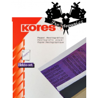 Decal paper for transferring Kores motifs