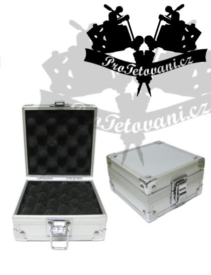Ochranná krabička na tetovací strojek SILVER BOX