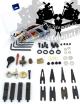 Opravárenská sada-veškeré náhradní díly pro cívkové strojky