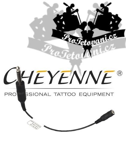 Originální redukce pro strojky Cheyenne z 6,3 na 3,5 mm