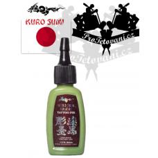 Original tattoo ink Kuro Sumi Wasabi Green 15 ml