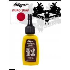 Original tattoo ink Kuro Sumi Yellow Koi 15 ml