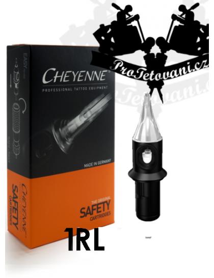 Originální tetovací cartridge Cheyenne Safety 1 RL